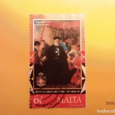 Sellos: MALTA 1999 - ORDEN DE MALTA - PHILIPPE VILLIERS DE L'ISLE ADAM.. Lote 150965450