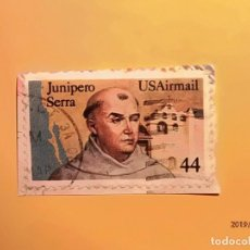 Sellos: USA - RELIGIOSO - FRAY CUNIPERO SERRA - FRANCISCANO.. Lote 151006834
