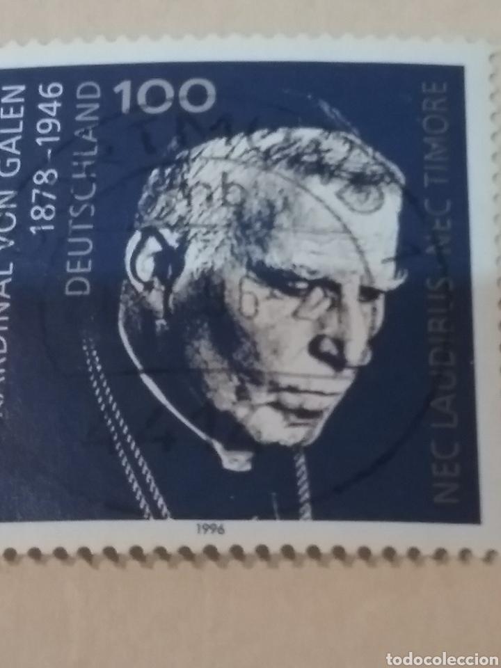 SELLOS ALEMANIA, R. FEDERAL MTDO/1996/L ANIV. MUERTE CARDENAL VON GALEN/RELIGION/FAMOSO/ (Sellos - Temáticas - Religión)