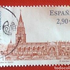 Sellos: SELLO ESPAÑA SELLO CATEDRAL TOLEDO USADO. Lote 160872425
