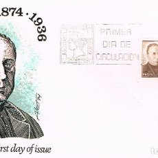 Sellos: EDIFIL 2181, CENTENARIO DEL PADRE POVEDA, PRIMER DIA DE 28-5-1974 ALFIL. Lote 161003922