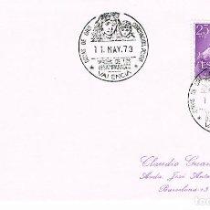 Sellos: AÑO 1973, BODAS DE ORO CORONACION VIRGEN DE LOS DESAMPARADOS (VALENCIA) . Lote 161005126
