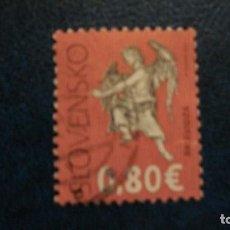 Sellos: RELIGION-CRISTIANISMO-ARTE-ESCULTURAS-ESLOVAQUIA-2012-0,80 EUR. /º/. Lote 171768998