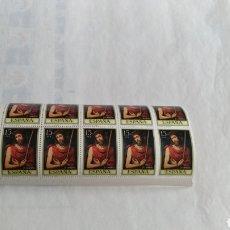 Sellos: 10 SELLOS DE 15 PTS ESPAÑA. Lote 167586246