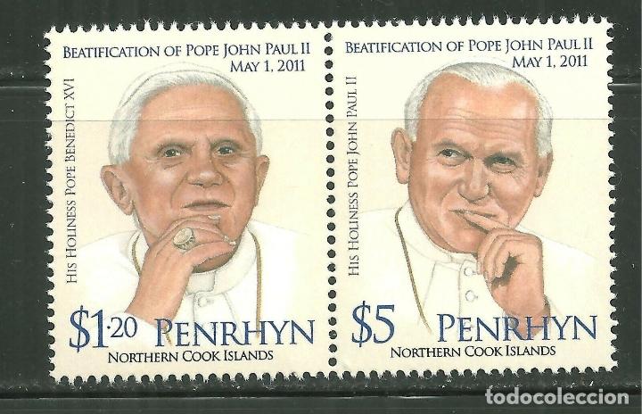 PENRHYN 2011 SC 504/05 *** BEATIFICACIÓN DEL PAPA JUAN PABLO II - RELIGION (Sellos - Temáticas - Religión)