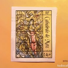 Sellos: FRANCIA 2002 - CATEDRAL DE METZ - VIDRIERAS.. Lote 174073945