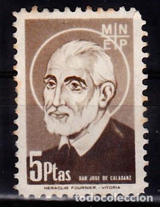 SAN JOSE DE CALASANZ (FOURNIER) (Sellos - Temáticas - Religión)