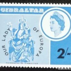 Sellos: 1966. 180. NUESTRA SEÑORA DE EUROPA. EFIGIE DE LA REINA ISABEL II. SERIE COMPLETA. NUEVO.. Lote 182465256