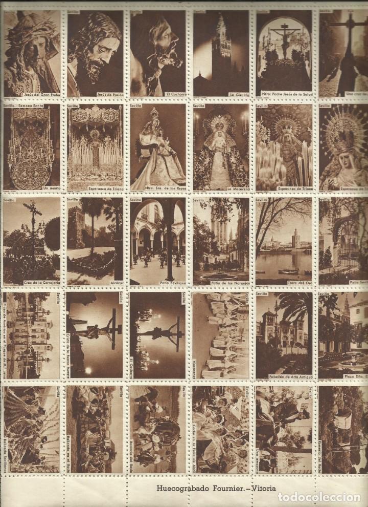 Sellos: PLANCHA 60 SELLOS HUECOGRABADOS FOURNIER Sna Sta y Feria Abril SEVILLA - Foto 2 - 183478165