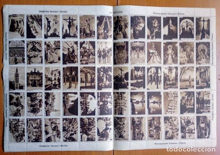 Sellos: PLANCHA 60 SELLOS HUECOGRABADOS FOURNIER Sna Sta y Feria Abril SEVILLA - Foto 3 - 183478165