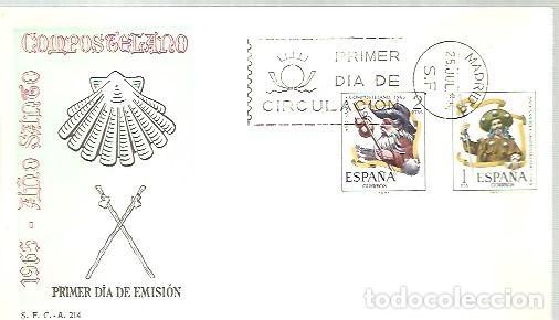 FDC ESPAÑA 1965 (Sellos - Temáticas - Religión)