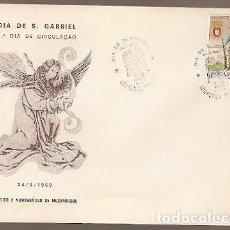 Sellos: MOZAMBIQUE & FDC PORTUGAL ULTRAMAR, DÍA DE SAN GABRIEL, LOURENÇO MARQUES 1969 (9964). Lote 186040917