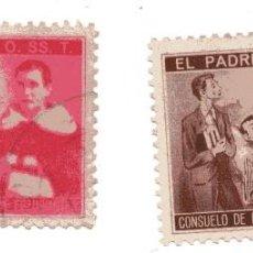 Sellos: S28C PAREJA VIÑETAS PADRE DOMINGO 0.SS.T (TRINITARIOS). Lote 192297598