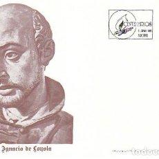 Sellos: EDIFIL 3120, V CENTENARIO DE SAN IGNACIO DE LOYOLA, PRIMER DIA DE 6-6-1991 FLASH. Lote 194058255