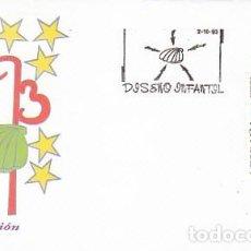 Sellos: EDIFIL 3269, EL CAMINO DE SANTIAGO, DISEÑO INFANTIL, PRIMER DIA DE 2-10-1993, SOBRE DEL SFC. Lote 194059012