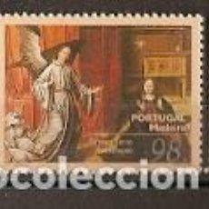 Sellos: PORTUGAL ** & PINTURA DE ARTE RELIGIOSO, ANUNCIACIÓN, MADERA 1996 (2353). Lote 195042058