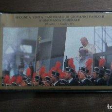 Sellos: /26.02/-ALEMANIA FEDERAL-LA SEGUNDA VISITA DEL S.S.JUAN PABLO II EN ALEMANIA FEDERAL/30.4-4.05 1987/. Lote 195250608