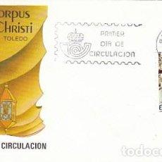 Sellos: EDIFIL 2786, CORPUS CHRISTI DE TOLEDO (FIESTAS POPULARES), PRIMER DIA DE 6-6-1985 SFC. Lote 197037022