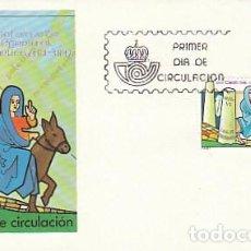 Sellos: EDIFIL 2773, XVI CENTENARIO DEL VIAJE D LA MONJA EGERIA AL ORIENTE BIBLICO PRIMER DIA 26-9-1984 SFC. Lote 197037225