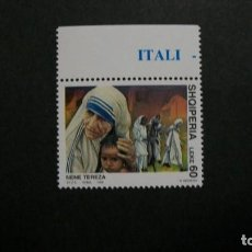 Timbres: /23-03/-ALBANIA-1998-60 L. Y&T 2428 EN NUEVO(**MNH)-LA MADRE TERESA/1910-1997/. Lote 197971376