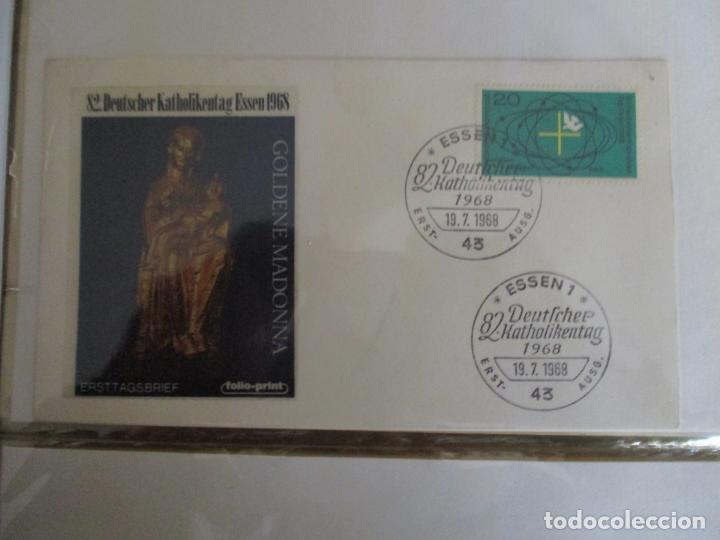 VIRGEN DE ORO 1968 ESSEN ALEMANIA (Sellos - Temáticas - Religión)