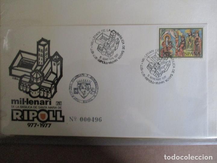 SPD 1977 MIL.LENARI BASILICA DE RIPOLL (Sellos - Temáticas - Religión)