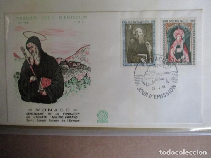 SPD 1968 SAN BENITO PATRON DE EUROPA MONACO (Sellos - Temáticas - Religión)