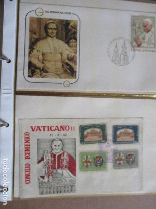 SPD 1962 JUAN XXIII VENEZUELA Y 1979 JUAN PABLO II POLONIA (Sellos - Temáticas - Religión)