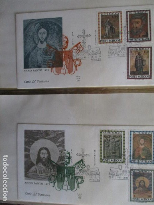 SPD AÑO SANTO 1975 POSTA VATICANA VATICANO (Sellos - Temáticas - Religión)
