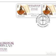 Sellos: PORTUGAL & FDC NIÑOS EXPUESTOS,SINAL DE JUAN, PROTECCIÓN INFANFIL, S.C.M. LISBOA 2020 (6969) . Lote 198486957