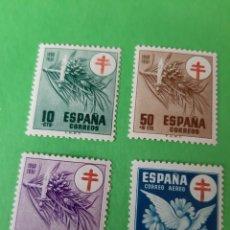 Sellos: 1084/87 NUEVA SERIE PRO TUBERCULOSO AÑOS 1959 ESPAÑA. Lote 199127782