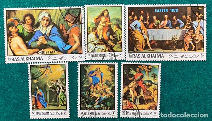 FICHA SELLOS MOTIVOS RELIGIOSOS DE RAS ALKHAIMA (Sellos - Temáticas - Religión)
