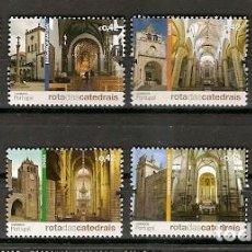 Sellos: PORTUGAL ** & RUTA DE LAS CATEDRALES 2014 (9696). Lote 257597820