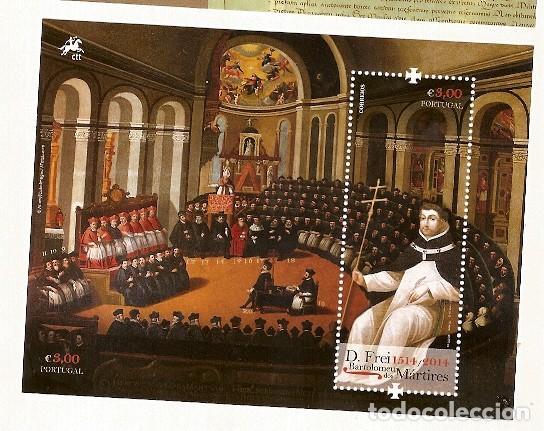 PORTUGAL ** & D. FREI BARTOLOMEU DOS MÁRTIRES 1514- 2014 (9879) (Sellos - Temáticas - Religión)
