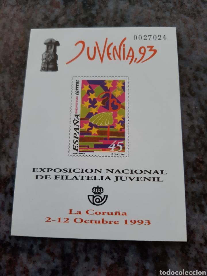 LA CORUÑA 1993 ESPAÑA PRUEBA OFICIAL JUVENIA JACOBEO EDIFIL NÚMERO 30 .FILATELIA COLISEVM (Sellos - Temáticas - Religión)