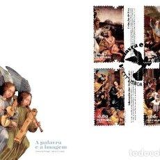 Sellos: PORTUGAL & FDC BIBLIA, LA PALABRA Y LA IMAGEN 2012 (3505). Lote 114593539