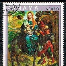 Sellos: PANAMA, VISITA DEL PAPA PABLO VI A LATINOAMÉRICA POR EL 39º CONGRESO EUCARÍSTICO INTERNACIONAL, USAD. Lote 209711363