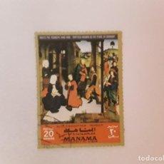 Selos: TEMA RELIGIÓN SELLO USADO. Lote 210121152