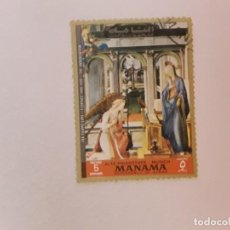 Selos: TEMA RELIGIÓN SELLO USADO. Lote 210121207