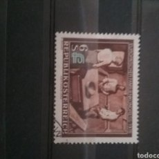 Sellos: SELLOS AUSTRIA (OSTERREICH) MTDOS/1978/CONFERENCIA/EUROPEA/FAMILIA/MESA/CASA/PLATO/GENTE/HOMBRE/MUJE. Lote 210490501