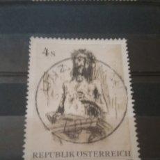 Sellos: SELLOS AUSTRIA (OSTERREICH) MTDOS/1979/ARTE/MODERNO/CUADROS/PINTURAS/CRISTO/RELIGION/ARTISTAS/ARTESA. Lote 210647688