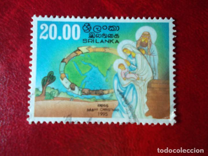 SRILANKA NAVIDAD 1995 (Sellos - Temáticas - Religión)