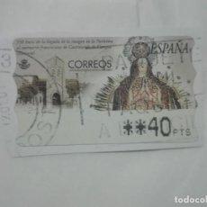 Sellos: SELLO 350 ANIVERSARIO LA PURISIMA SANTUARIO FRANCISCANO CASTROVERDE ZAMORA ATM 40PTS CORREOS ESPAÑA. Lote 212656063