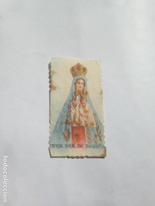 ESTAMPITA NUESTRA SEÑORA DE BEGOÑA AÑOS 50 (Sellos - Temáticas - Religión)