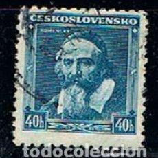 Sellos: CHECOESLOVAQUIA Nº 346 (AÑO 1936), JAN ÁMOS KOMENSKÝ, TEÓLOGO, USADO. Lote 214123321