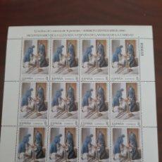 Sellos: RELIGIÓN HIJAS DE LA CARIDAD MINIPLIEGO 13 EDIFIL 3069 FILATELIA COLISEVM. Lote 221918461
