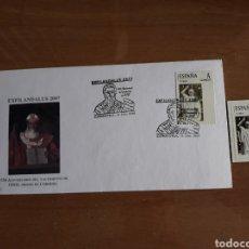 Selos: SOBRE MATASELLADO + SELLO PERSONALIZADO.. Lote 223055290