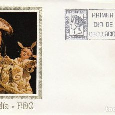 Sellos: EDIFIL 2306, VIRGEN PEREGRINA PONTEVEDRA, AÑO SANTO COMPOSTELANO, PRIMER DIA 2-1-1976 MUNDO FI EXPOS. Lote 226309665