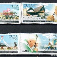 Sellos: 4794 CUBA 2006 MNH POPE JOHN PAUL II, 1920-2005. Lote 226322186