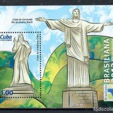 Sellos: 5753 CUBA 2013 MNH WORLD STAMP EXHIBITION BRASILIANA 2013. Lote 226322915